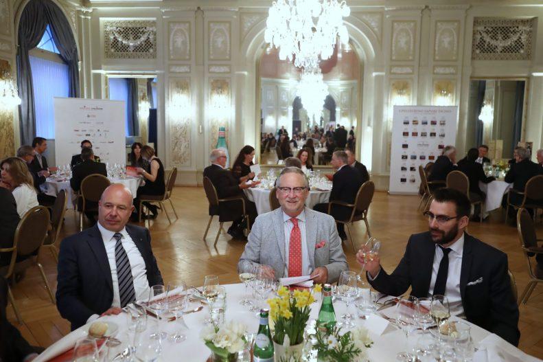 S. Pellegrino Sapori Ticino 2017: '2nd Gala Dinner Oltre Gottardo' at Bellevue Palace in Berne