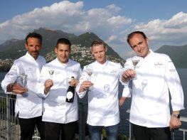 Chefs Pierre Crépaud, Domenico Ruberto, Patrick Mahler & Philipp Bourrel