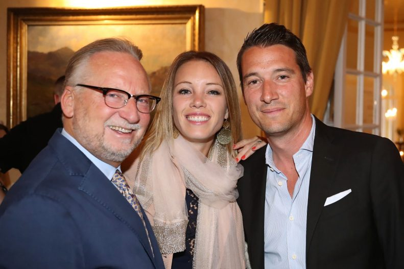 Dany Stauffacher, Eleonora Postizzi & Matteo Pelli.