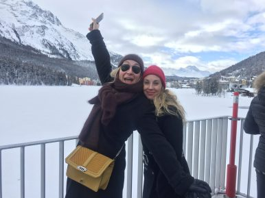 Tamara Cantieni and Nina Merli