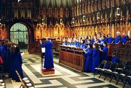 Evensong in York Minster