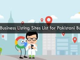Pakistani Local Business Websites Lists