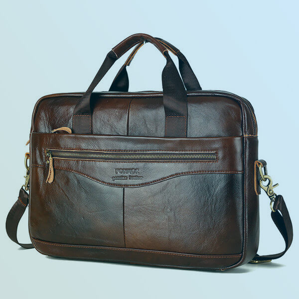 Genuine Leather Laptop Bag Gift