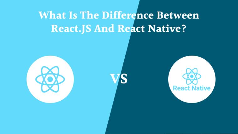 Logo of ReactJs and React Native