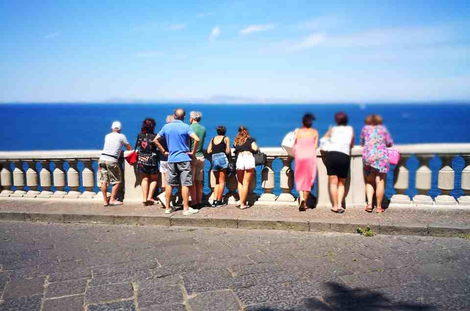 Discovering the Amalfi coast by the sea!