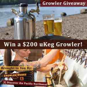 uKeg Growler Giveaway