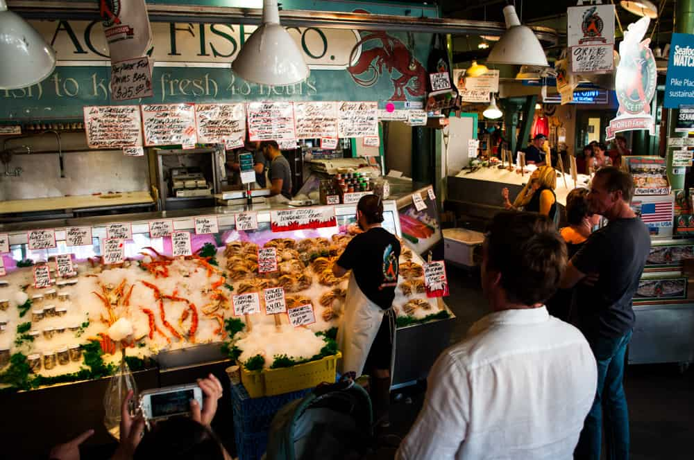 What to do in Seattle this weekend Pike Place Market Fish