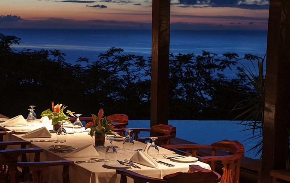 The Pavillion Restaurant at Stonehaven Villas, Tobago