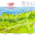 North and Northeast Trinidad Map. Copyright MEP Publishers 2009
