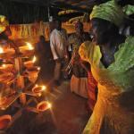 Osun River Festival, Trinidad. Photo: Edison Boodoosingh