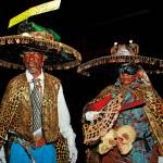 Midnight Robbers, some of the traditional characters of Trinidad Carnival. Photo: Ryan Kong