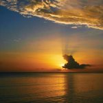 Sunset at Sandy Point. Photographer: Marc Seyon
