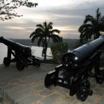 Cannon at Ft King George. Photographer: Anton Modeste