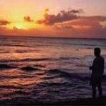 Seaside sunset in Tobago. Photographer: Bertrand de Peaza