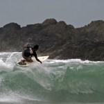 Surfing in Toco. Photographer: Skene Howie