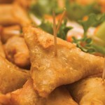 Fried samosas. Photographer: Marc Seyon/Very Caribbean Ltd (verycaribbean.com)