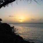 Sunset at Crown Point Tobago. Photographer: Caroline Taylor