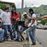 Filming The Cool Boys in Trinidad. Courtesy Michael Mooleedhar