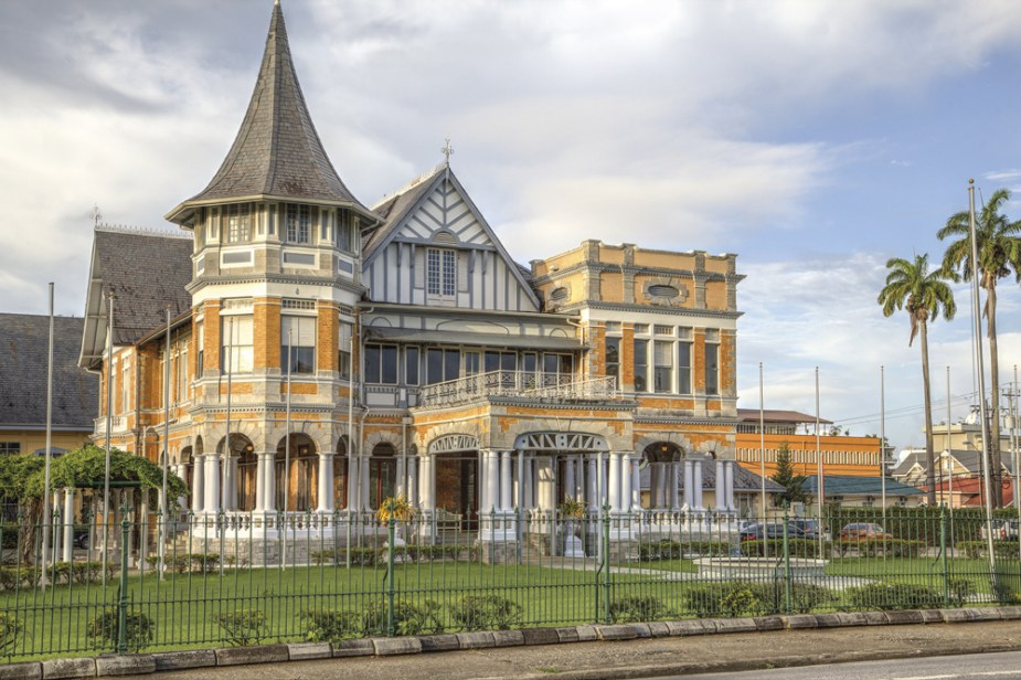 Knowsley house in Trinidad. Photo by Chris Anderson