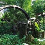 Arnos Vale Waterwheel. Photo by Ariann Thompson/MEP Publishers