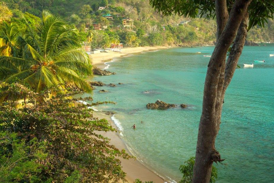 Castara Bay, Tobago. Photo by Chris Anderson