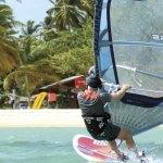 Pigeon Point windsurfing with Radical Sports Tobago (radicalsportstobago.com)