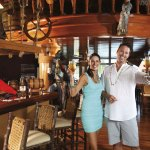 The Robinson Crusoe pub at the Magdalena Grand Beach & Golf Resort