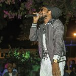 Prophet Benjamin wows the crowd. Courtesy the Shade Nightclub
