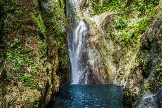 Tobago's Highland Waterfall. Photo by Brendan Delzin