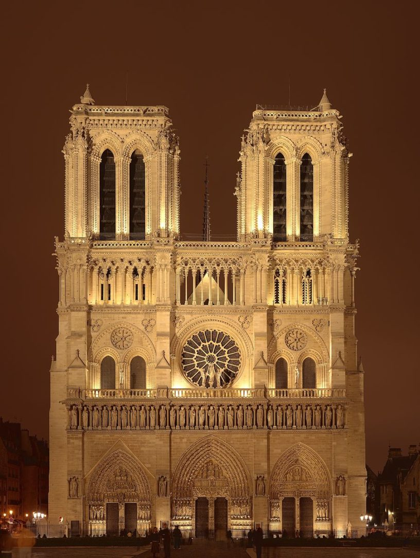of notre dame cathedral in paris