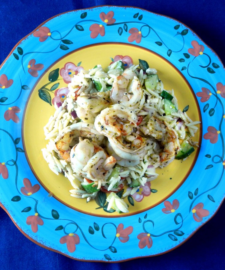 Shrimp and Orzo Summer Salad