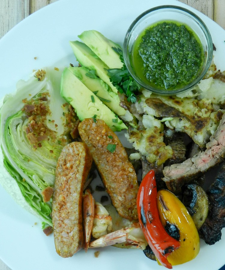Argentine mixed Grill With Chimichurri