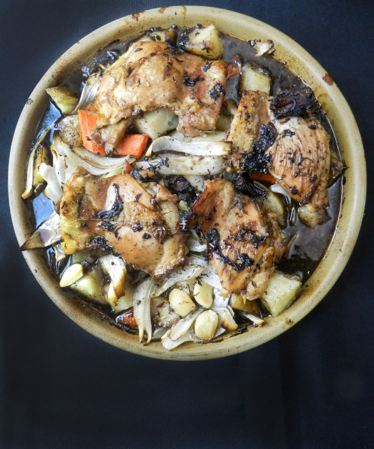 Balsamic Braised Chicken