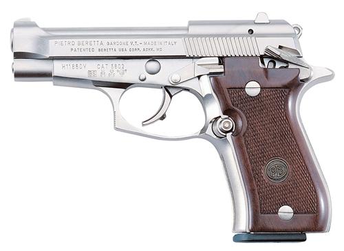 Beretta Cheetah 84FS Nickel
