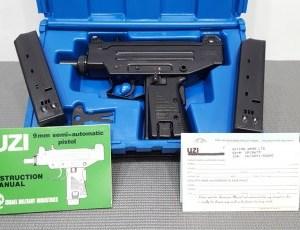 Preban IMI UZI pistol 9mm