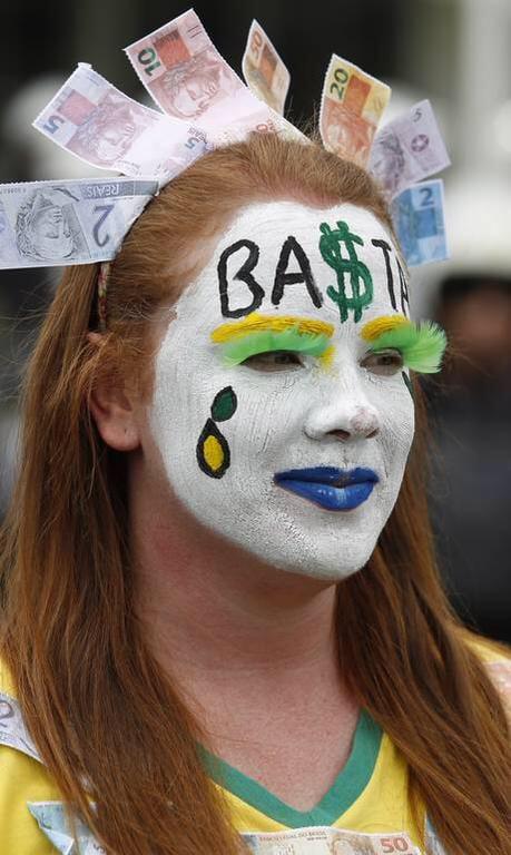 Manifestação anti-Dilma entra para a história