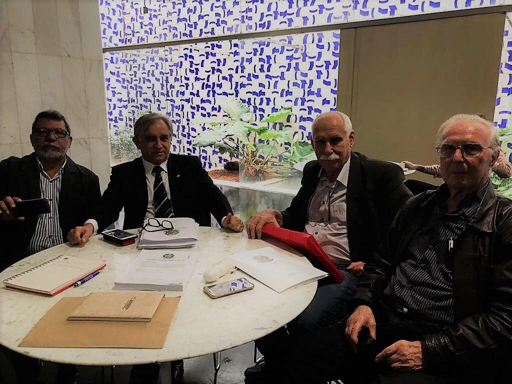 MISSÃO CUMPRIDA - Relatório do trabalho realizado nos dias 8, 9 e 10/11, em Curitiba e Brasília