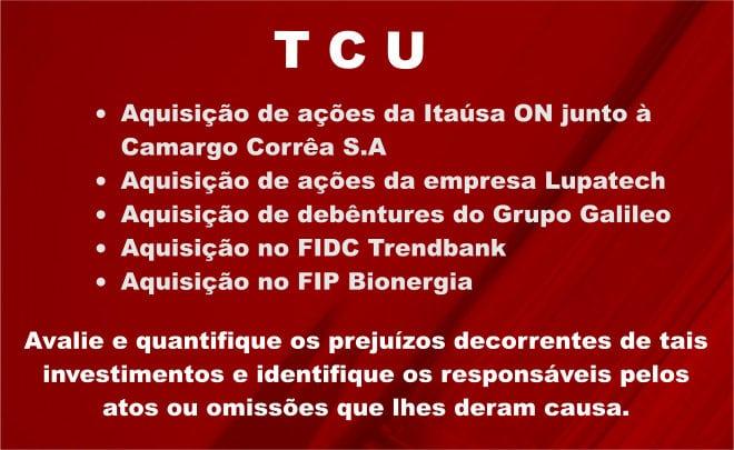 TCU determina ações e prazos para que Petros, Petrobras e Previc apresentem resultados de investigações e quantifiquem prejuízos