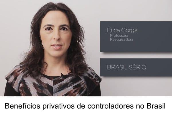 Benefícios privativos de controladores no Brasil
