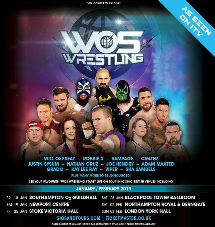 WOS Wrestling London
