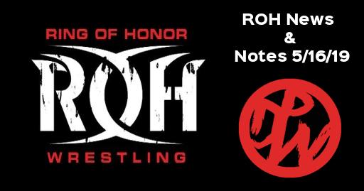 ROH News 5/16/19