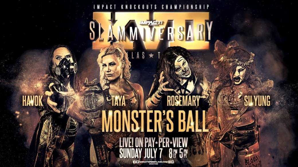 Monsters Ball 4 way KnockOuts