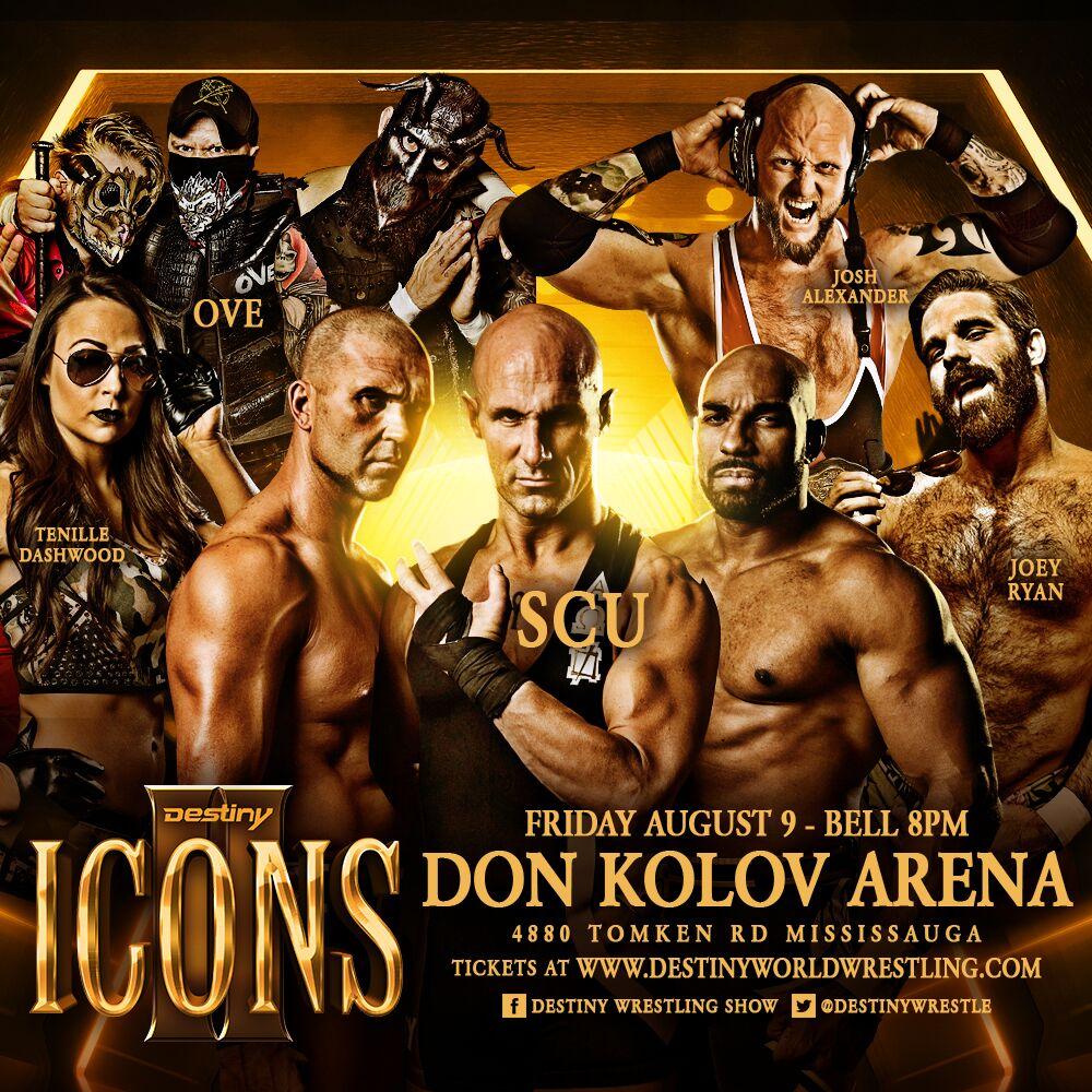Destiny Wrestling Icons 2