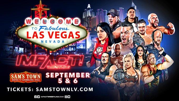 Impact tapings Las Vegas