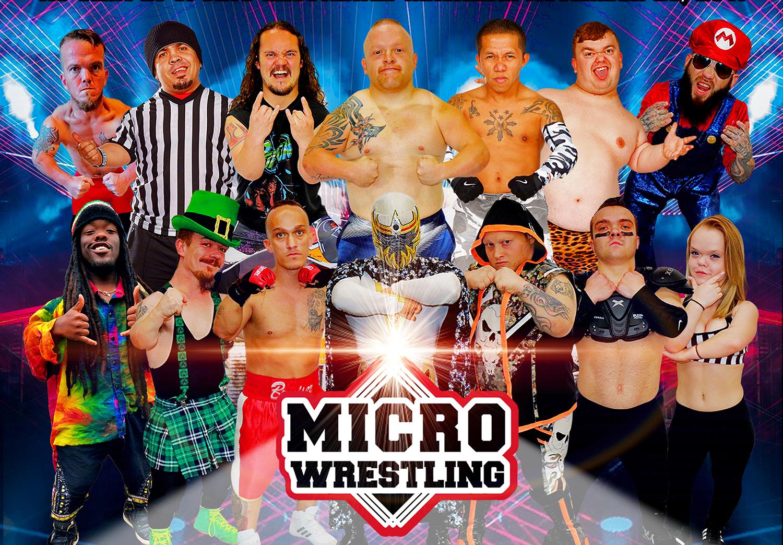 Micro Wrestling Lemont