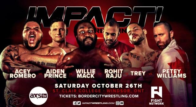 Impact Spoilers 10/26/19 Tapings
