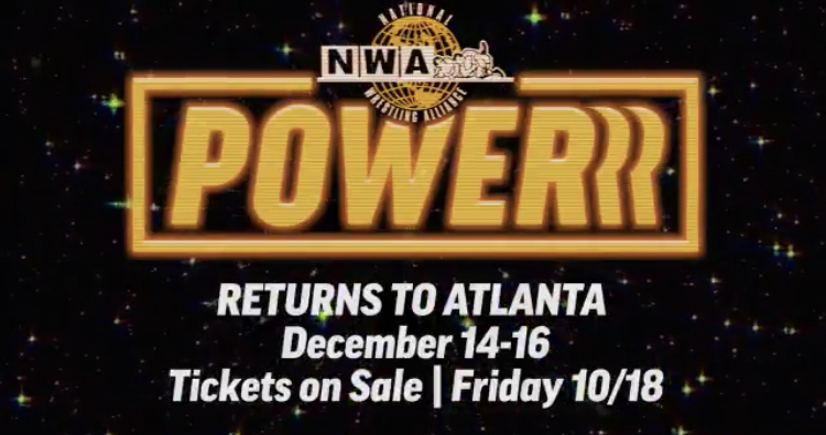 NWA Power Tapings December