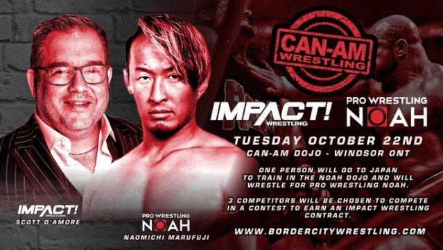 Impact Tryouts | Impact Wrestling | Pro Wrestling Noah