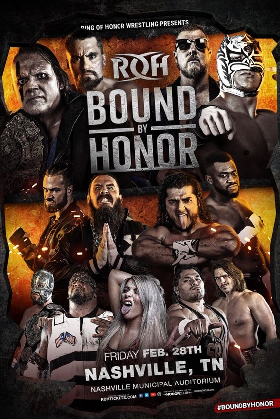 ROH Bound By Honor Results 2020