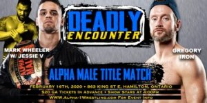 Alpha-1 Wrestling Deadly Encounter